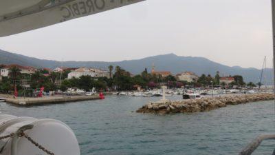 Le port et l'embarcadère d'Orebic - Croatie