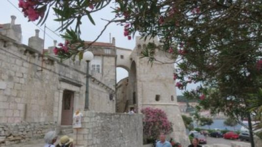 La forteresse de Korcula - Croatie