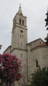 L'église d'Orebic - Croatie
