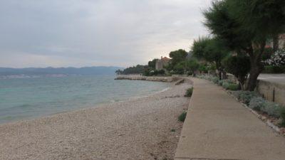 La plage d'Orebic - Croatie