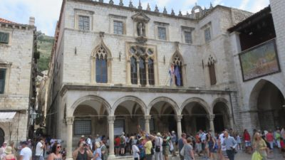 Le palais Sponza - Dubrovnik