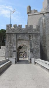 Porte de Ploce externe - Dubrovnik