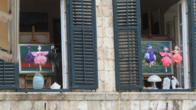 Aux fenêtres de la vieille ville - Dubrovnik