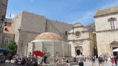 La grande fontaine d'Onofrio - Dubrovnik