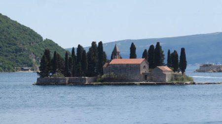 l'îlot de l'Abbaye de St Georges - Perast (Monténégro)