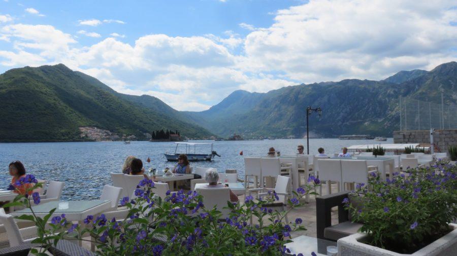 La baie de Kotor depuis Perast - Monténégro