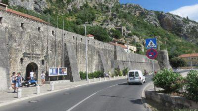 Les murs de la vieille ville - Kotor (Monténégro)