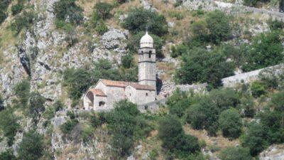l'église Notre Dame de la santé - Kotor (Monténégro)