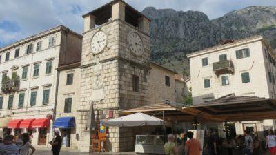 La tour de l'horloge - Kotor (Monténégro)
