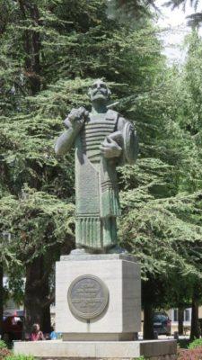 Statue d'Ivan Crnojevic - fondateur de Cetinje (Monténégro)