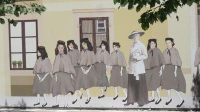 Peintures murales dans les rues de Cetinje - Monténégro