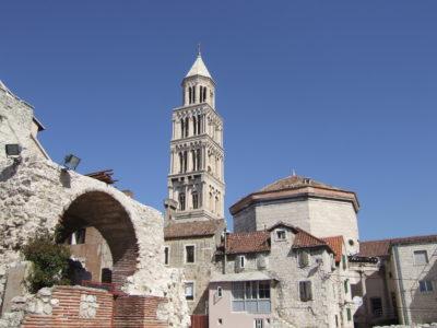 La cathédrale Sveti Duram ou St Domnius - Split