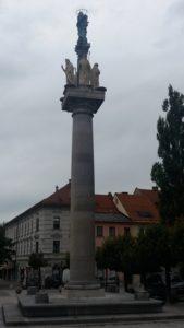 Colonne commémorative dédiée à la Vierge - Ljubljana