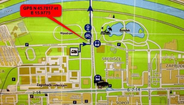 Aire de camping-car de Zagreb