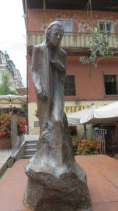 Statue de Gustav Mahler - Ljubljana