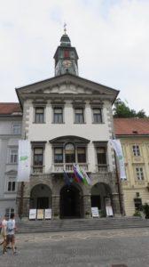 l'hôtel de ville - Ljubljana