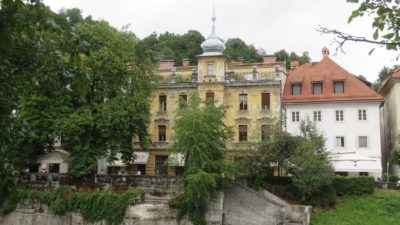 Vieilles demeures de Ljubljana - Slovénie