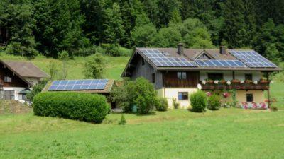 Belle maison dans la campagne allemande