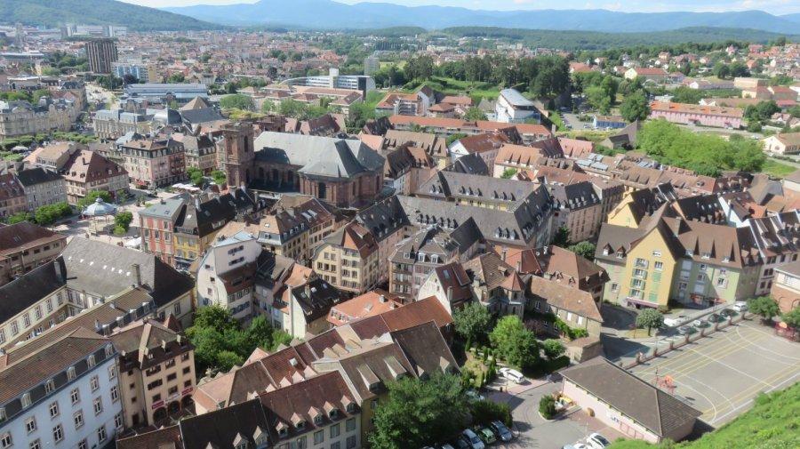 Belfort vue de la citadelle
