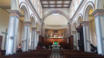 La cathédrale St Sauveur de St Denis (Réunion)
