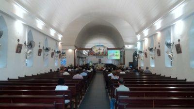 L'église St Jacques à St Denis (Réunion)
