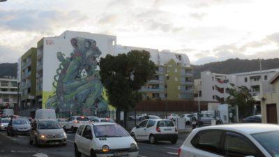 Le centre ville de St Denis (Réunion)