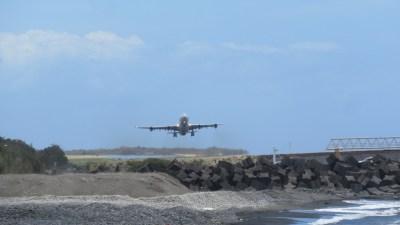 Les avions de l'aéroport de St Denis (Réunion)