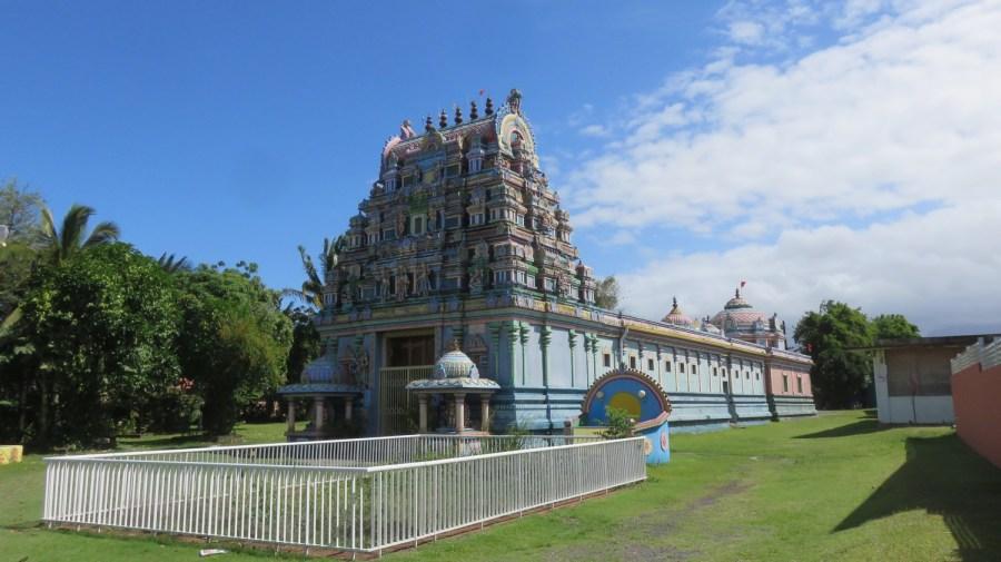 Le temple Tamoul du Colosse - St André (Réunion)
