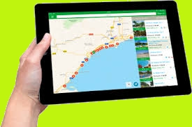 Application Tablette Campingcard ACSI