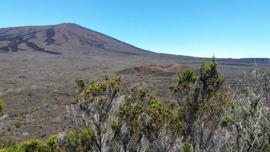 Retour et vue sur le cratère Formica Léo