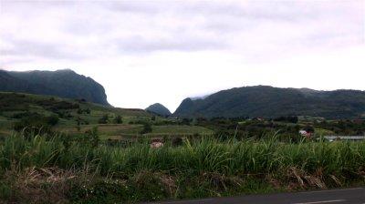 Sur la route de Salazie - Réunion