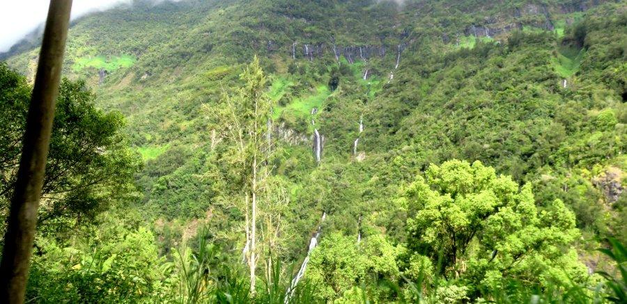 Le voile de la Mariée - Réunion