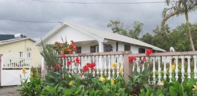 Maison fleurie de la Réunion