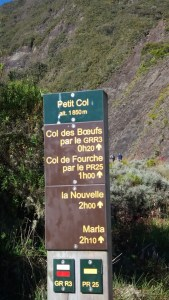 Petit col - Réunion