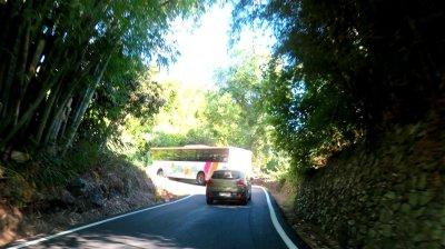 Vue depuis la route vers le col des boeufs - Réunion