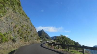 Sur la route vers le col des boeufs - Réunion