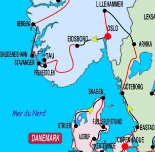 2ème partie Copenhague - Stavanger