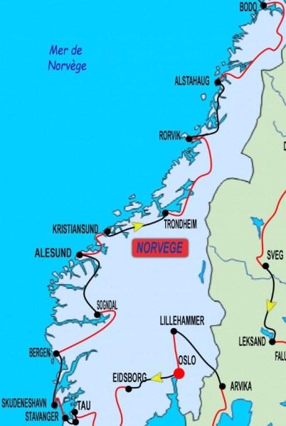 3ème partie Stavanger - Bodo