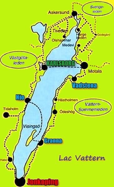 Lac Vättern - Suède