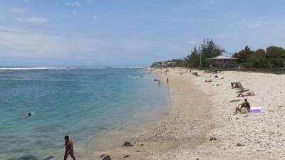 La plage de St Pierre - Réunion