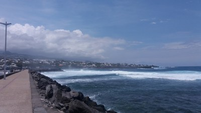 La jetée de St Pierre - Réunion