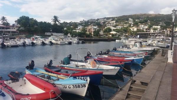 Le port de St Gilles les Bains - Réunion