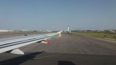 A l'aéroport de Lisbonne - Portugal