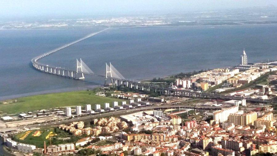 Survol de Lisbonne - Portugal