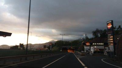 En route pour notre location de Ponta Do Sol - Madère