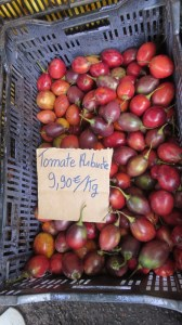 Fruits et légumes du marché de Cilaos