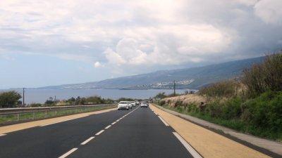 En direction de St Gilles les Bains - Réunion