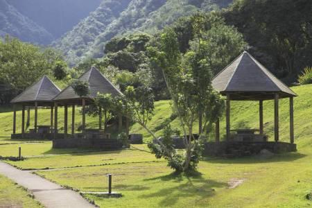 Kiosque Pique-nique Forêt de Tévelave (Réunion)