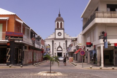 L'église St Louis - Réunion