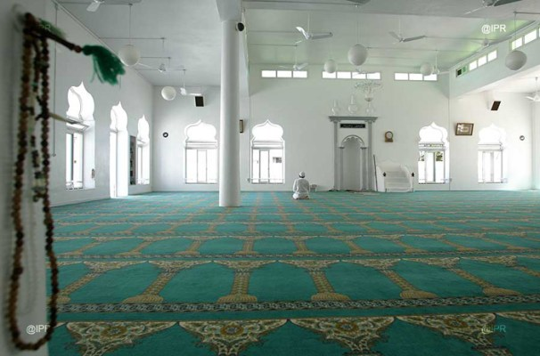 La mosquée Moubarak - St Louis (Réunion)